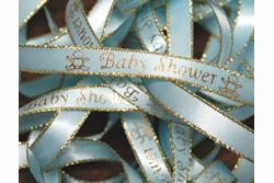 3/8u0027 Baby Shower Preprinted Ribbon